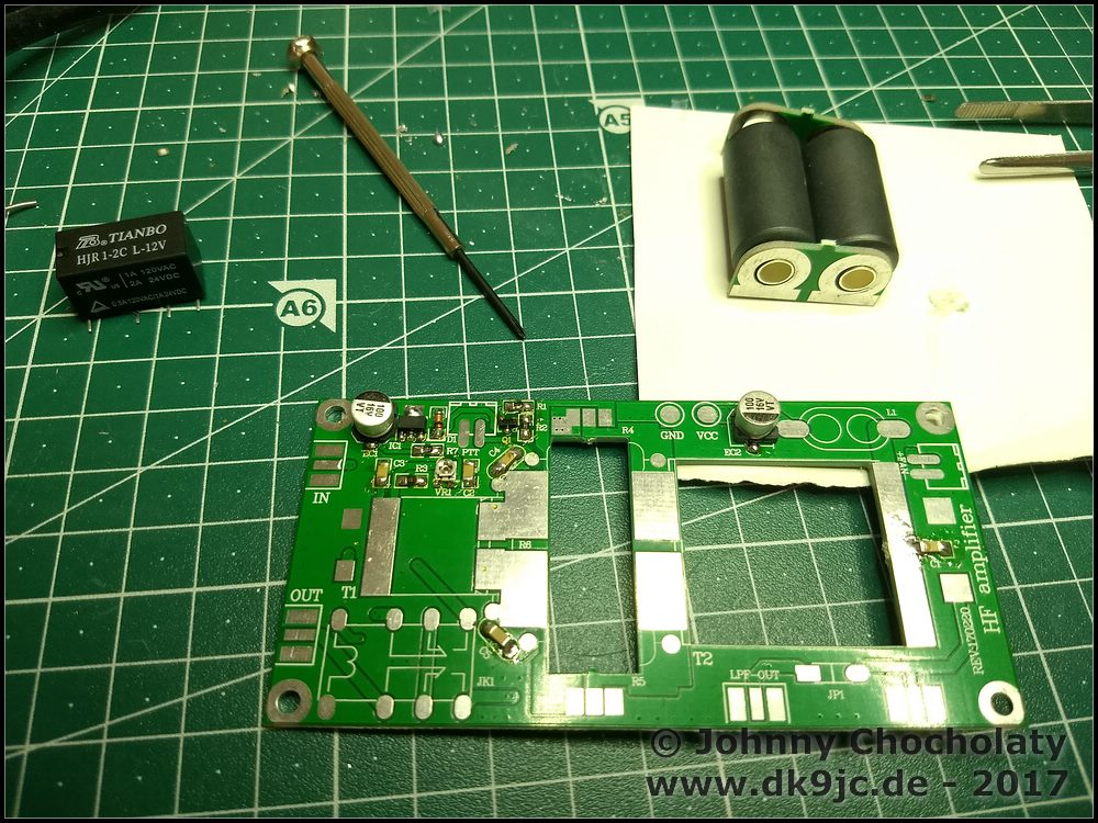 DIY Kits 70W SSB linear HF Power Amplifier FT-817 KX2 KX3