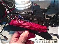 EFHW-antenna from ultralight wire
